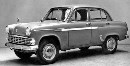 Советский автомобиль Москвич 403