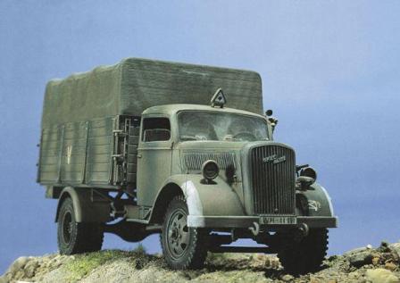 Грузовой Opel 1939 г.