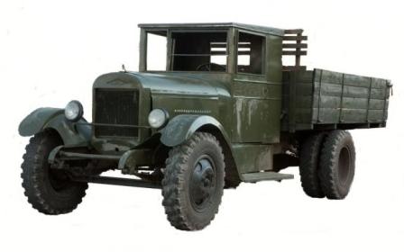 Советкий авто ЗИС-5 Трехтонка