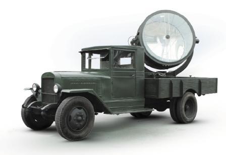 Прожектор на базе ЗИС-5