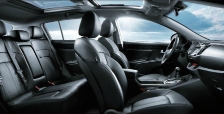 Kia Sportag в базовой комплектации