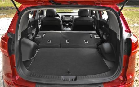 Багажник автомобиля Kia Sportag