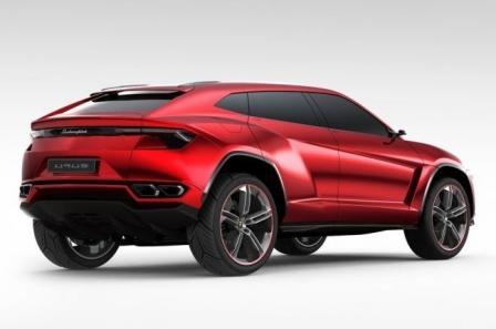 Автомобиль Lamborghini Urus