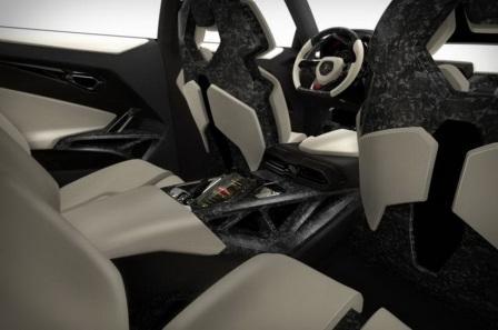 Задние сидения Lamborghini Urus