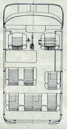 Схема салона Nysa 522