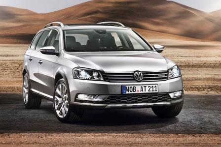 Полноприводный Volkswagen Passat Alltrack