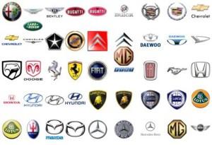 Правильное название марок автомобилей
