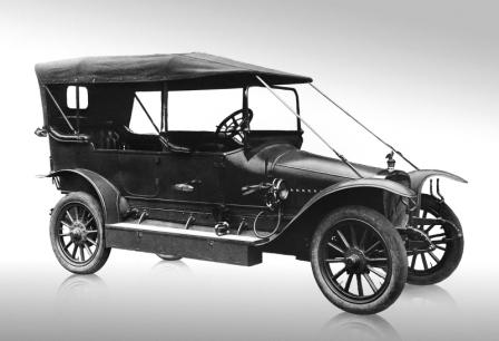 Первый автомобиль Руссо-Балт