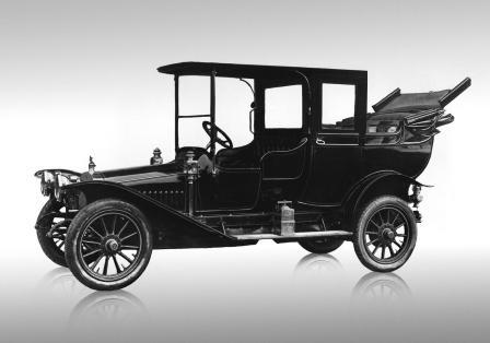 "Автомобиль Руссо-Балт ""Ландоле"" 1912"