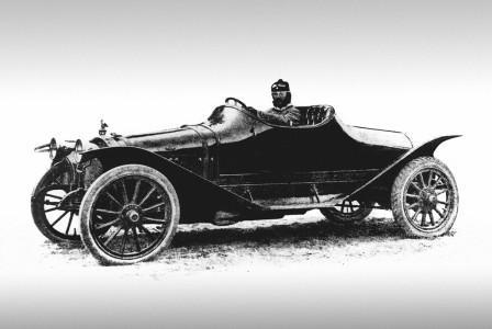 Гоночный автомобиль Руссо-Балт