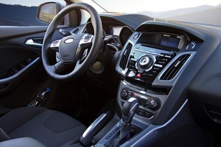 Передняя панель нового Форд Фокус 3