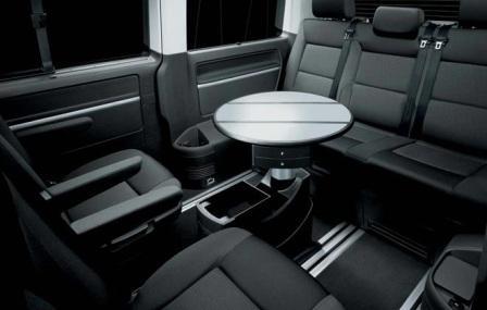 Салон микроавтобуса Volkswagen Multivan