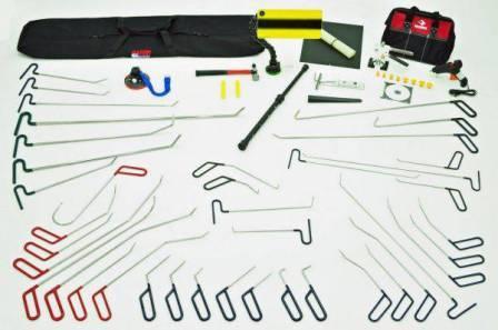 Инструменты для ремонта вмятин без покраски