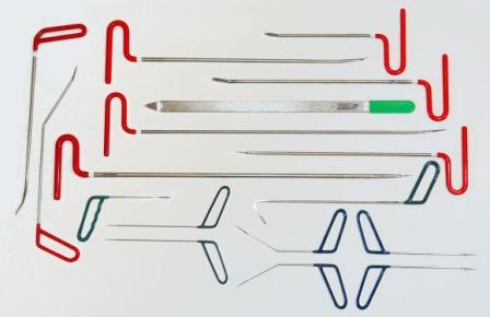 Крючки для ремонта вмятин без покраски