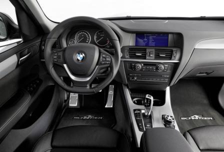 Салон BMW X3 2011