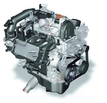 Двигатель Фольксваген Поло 5 хетчбэк