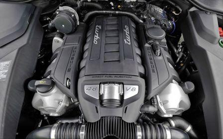 Двигатель Porsche Cayenne Turbo S