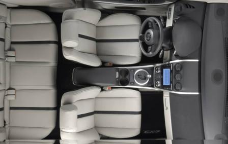 Эргономика Mazda CX7