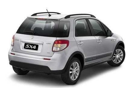 Suzuki SX4 вид сзади