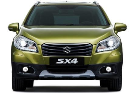 Suzuki SX4 вид спереди