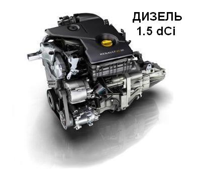 Двигатель Рено Дастер