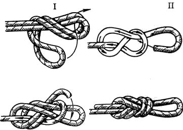 Узлы для завязывания троса