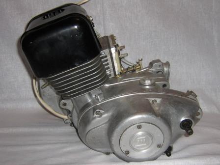 Двигатель мотороллера Муравей