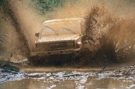Проскочить грязь