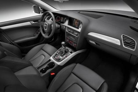 Салон Audi A4 Allroad Quatro