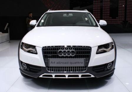 Вид спереди Audi A4 Allroad Quatro