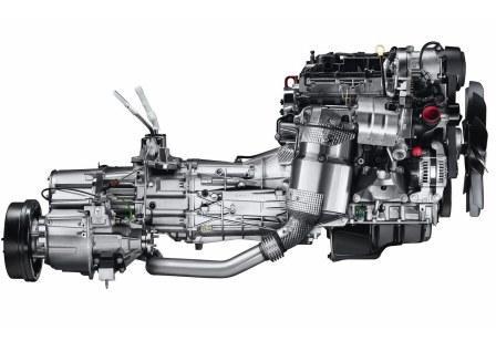 Двигатель и коробка Land Rover Defender 90