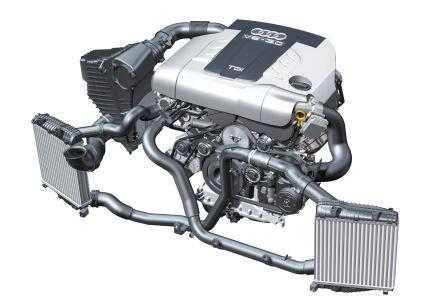 Двигатель Q7 3.0 TDI