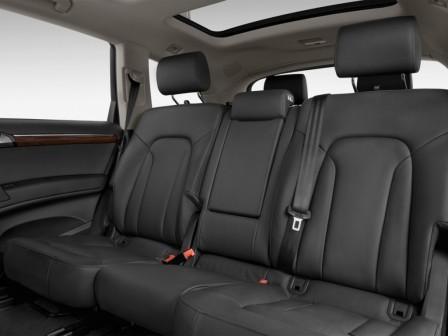Задние сидения Audi Q7 TDI