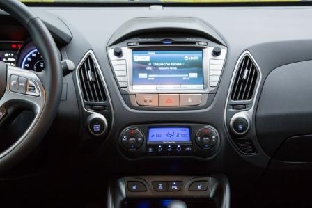 Консоль Hyundai ix35