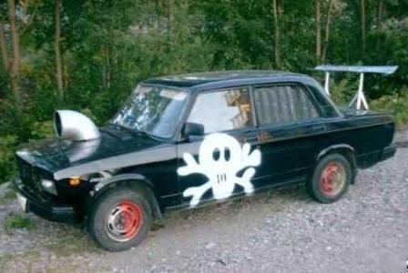 Крутой тюнинг автомобиля