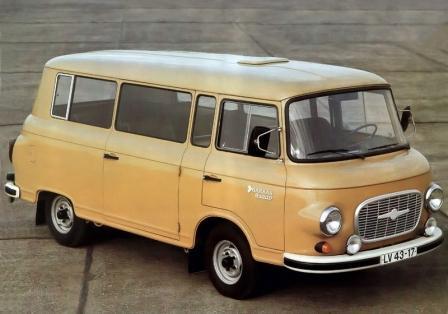 Микроавтобус Баркас 1000