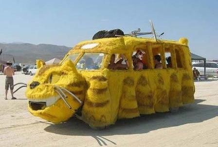 Необычный тюнинг автомобиля