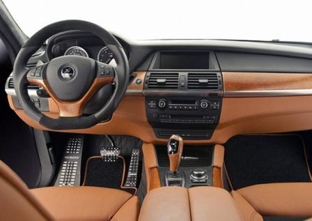 Салон BMW X6M Hamann