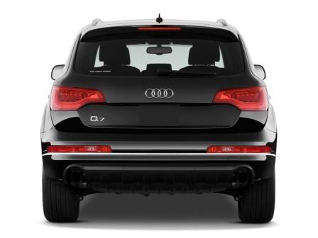 Audi Q7 TDI вид сзади