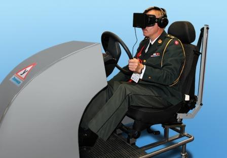 Виртуальный тренажер подготовки водителей