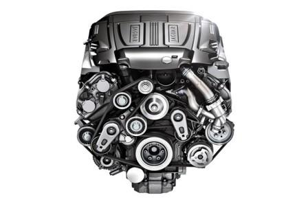 Двигатель Jaguar XJ 2013 года