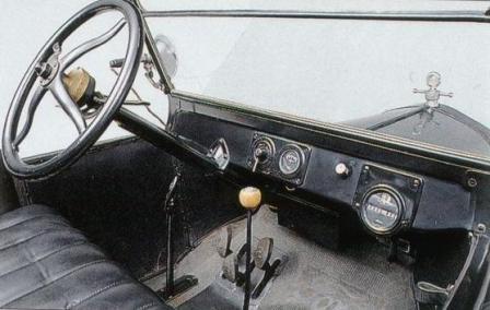 Салон Форд модель Т