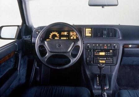 Салон Opel Senator Irmscher