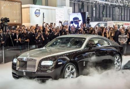 Rolls-Royce на Женевском автосалоне 2014