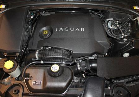 Двигатель Jaguar XF