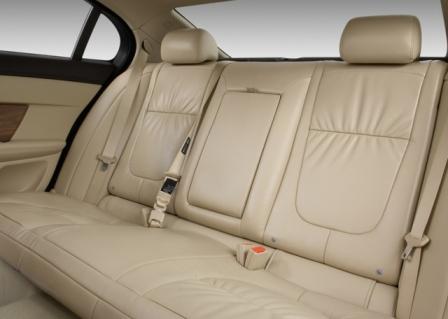 Задний диван Jaguar XF