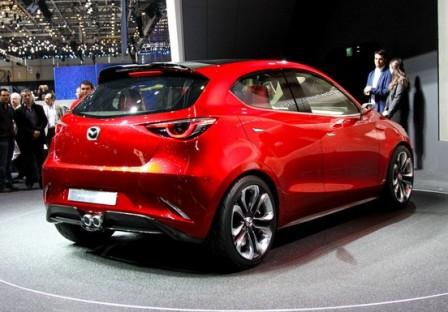 Концепт-кар Mazda 2 на Женевском автосалоне 2014