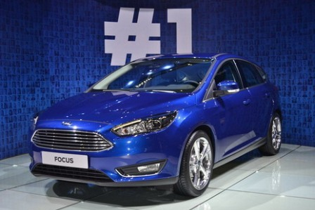 Новый Форд Фокус на Женевском автосалоне 2014