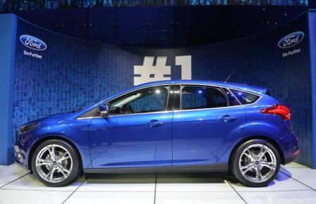 Новый Форд Фокус на женевском автосалоне 2014 (2)