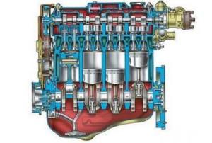 Рабочий объем двигателя